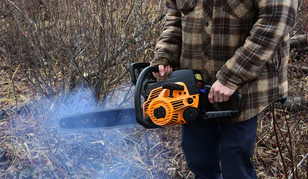 Are Chainsaws Supposed to Smoke? - Common Causes & Solutions