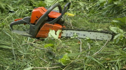 Here's What To Do If Your Chainsaw Won't Stay Running